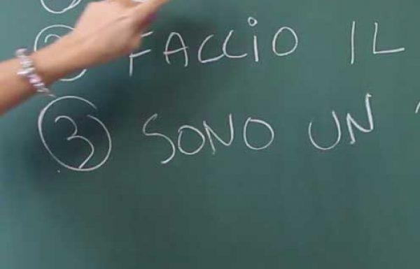 סרטונים ללימוד איטלקית – סרטון מספר 12